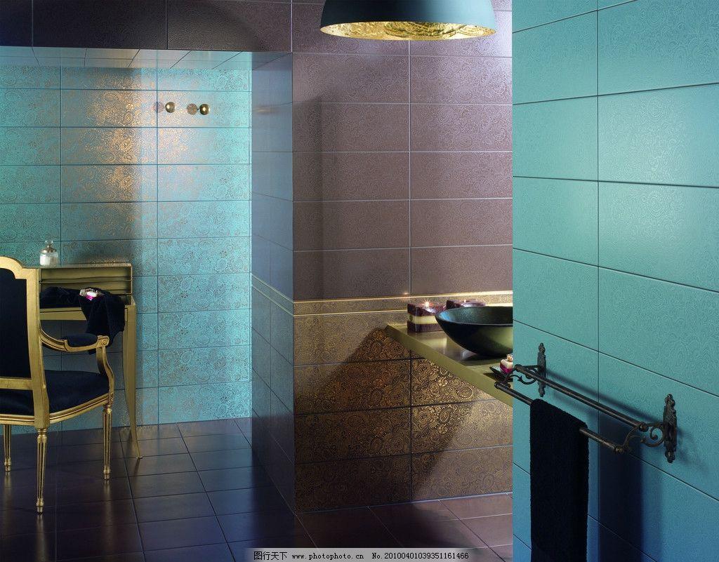 浴室卫生间瓷砖铺贴样板间铺砖 建筑 室内 样板间 欧式 新古典 简欧