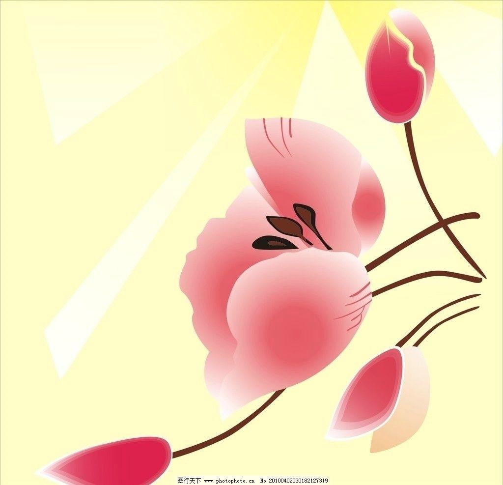 花瓣 盛开 移门 移门图案 广告设计 矢量 cdr
