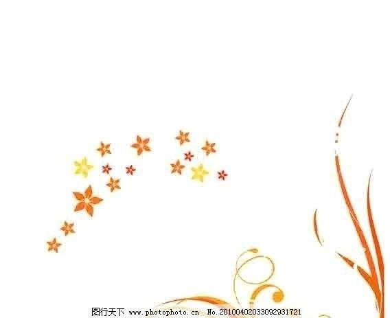 花纹 简单的花纹 星星 角花 花边 线条花纹 源文件