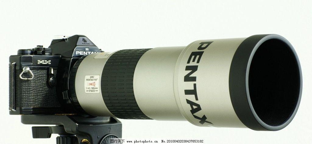 相机 潘泰克斯 长焦 镜头 三角架 科技产品 其他 现代科技 摄影 72dpi