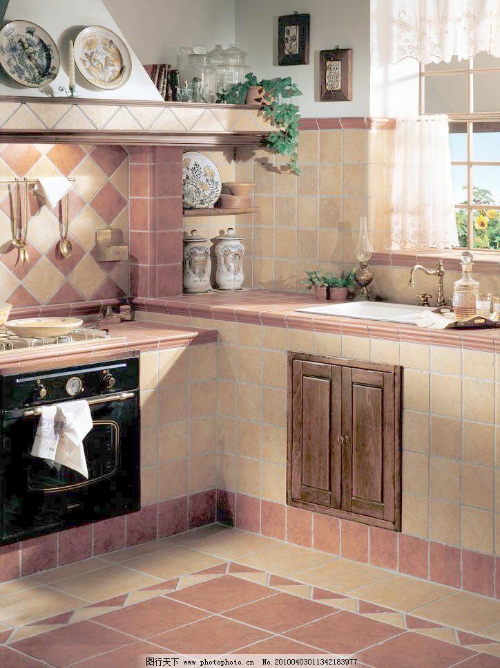 磁片 花片 抛光砖 铺贴        铺贴图 炊具 厨房用具 下厨 简欧 欧式