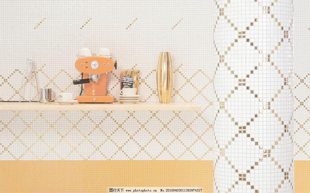 抛光砖 铺贴 效果图 铺贴图 炊具 厨房用具 下厨 现代 简约 简欧 欧式