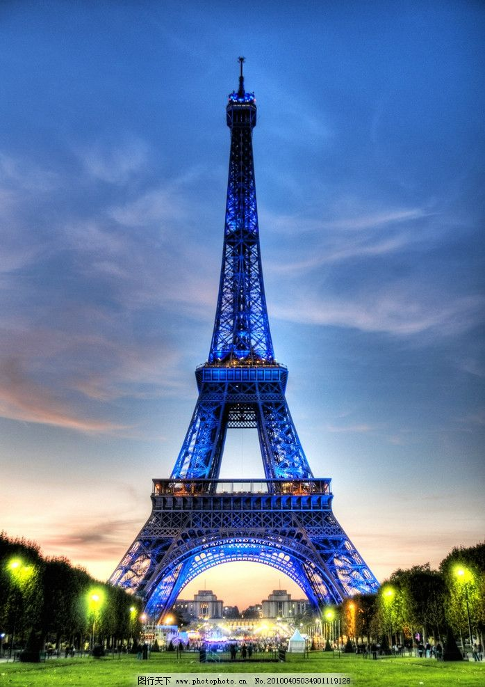 自然风景 旅游印记 巴黎