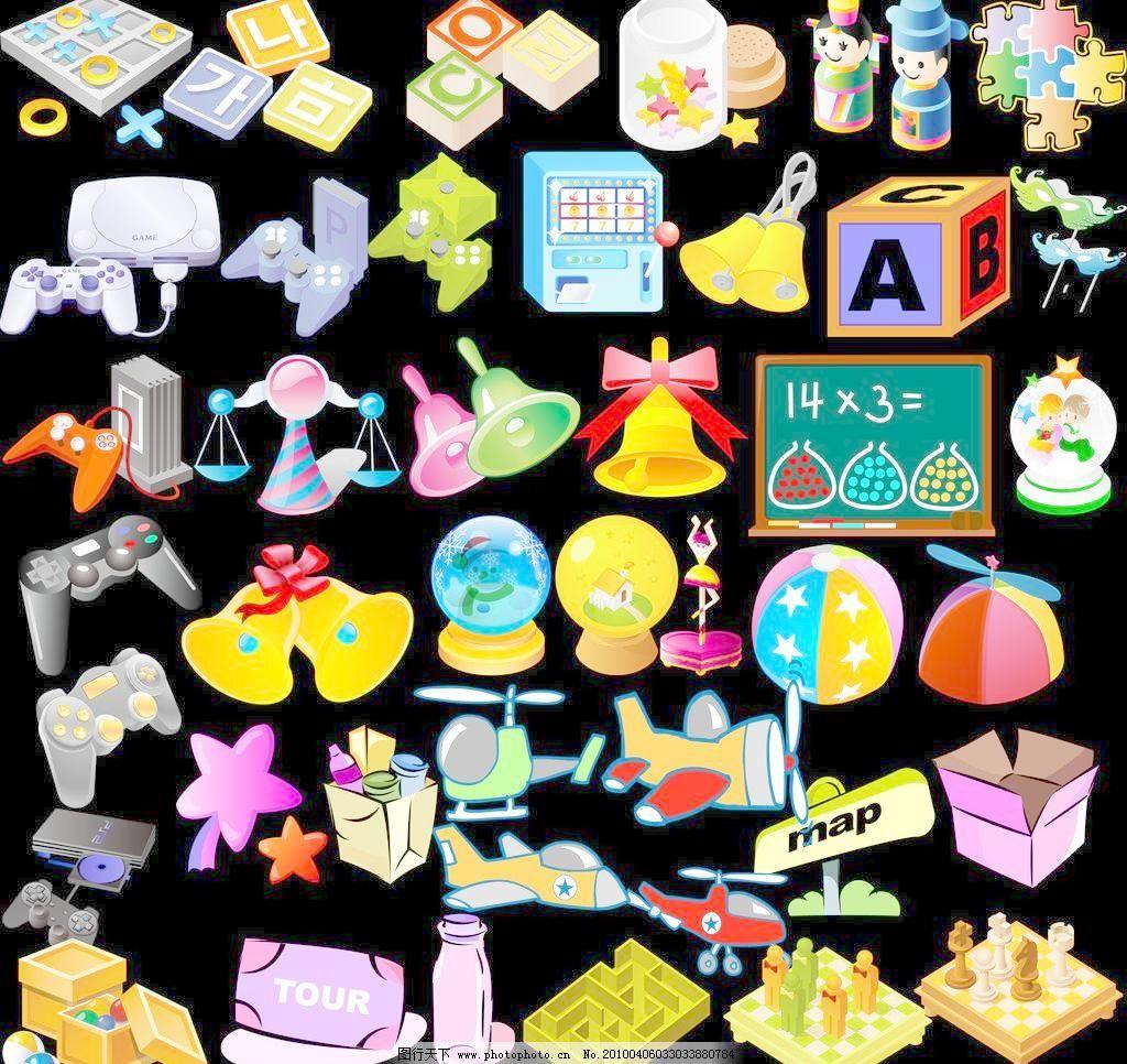 唯美可爱玩具素材图