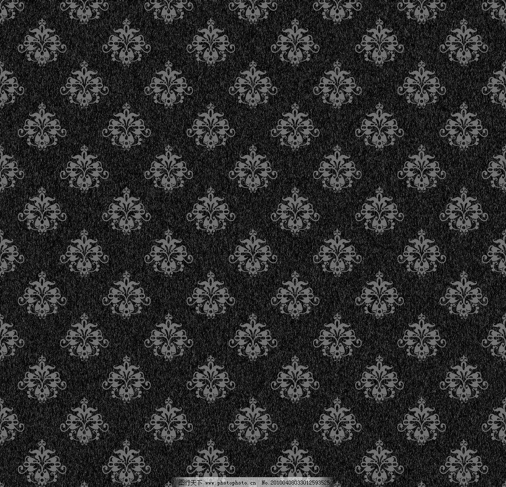 精美花纹 矢量花纹 黑白花纹