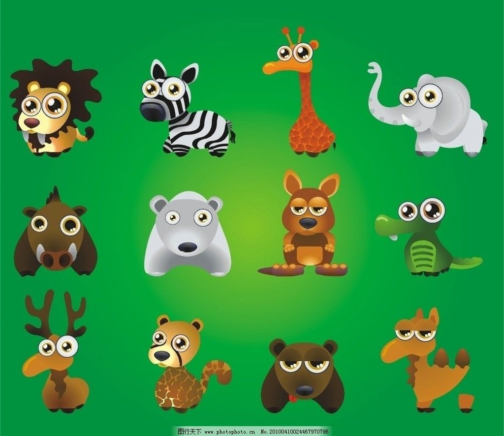 动物矢量图图片