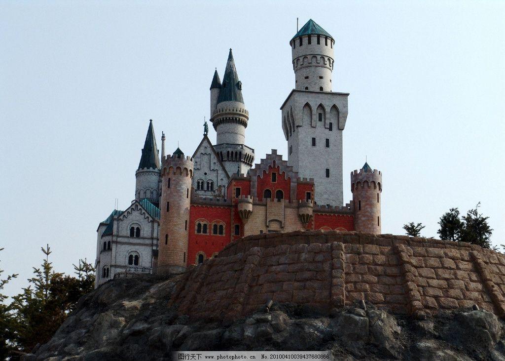 城堡 童话 欧式 建筑摄影 建筑园林