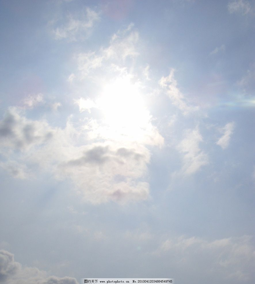 多云天空 自然风景 自然景观 摄影 96dpi jpg
