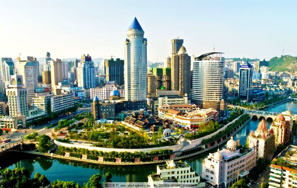 贵阳图片,风景 建筑 城市 贵州省会 合肥风光 大厦-图