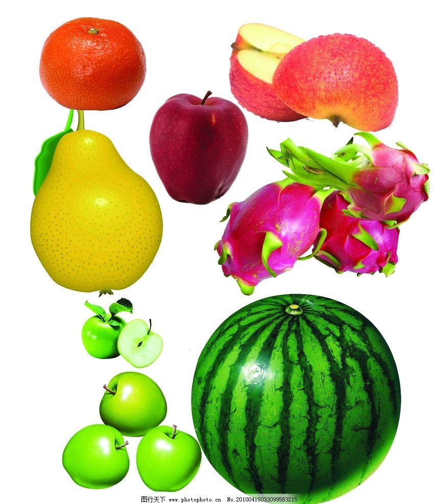 水果大全图片,苹果 梨 桔子 橙子 各种各样的水果-图