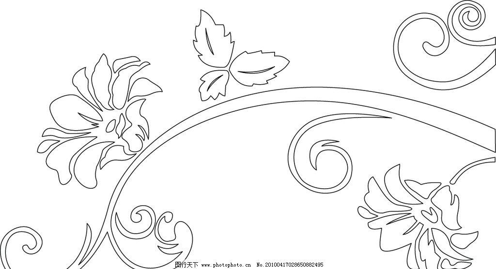 创意简笔手绘花