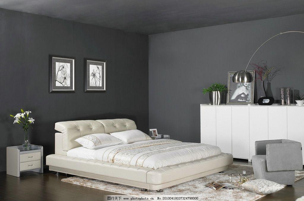 背景墙 床 房间 家居 家具 设计 卧室 卧室装修 现代 装修 1024_677