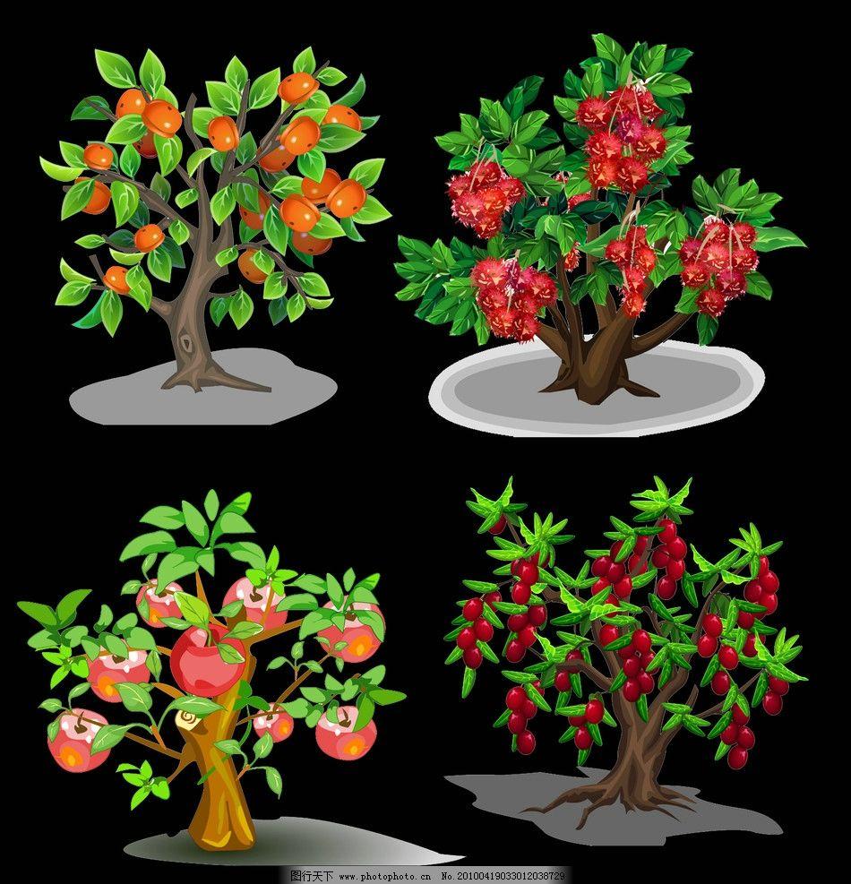 面泥手工制作果树