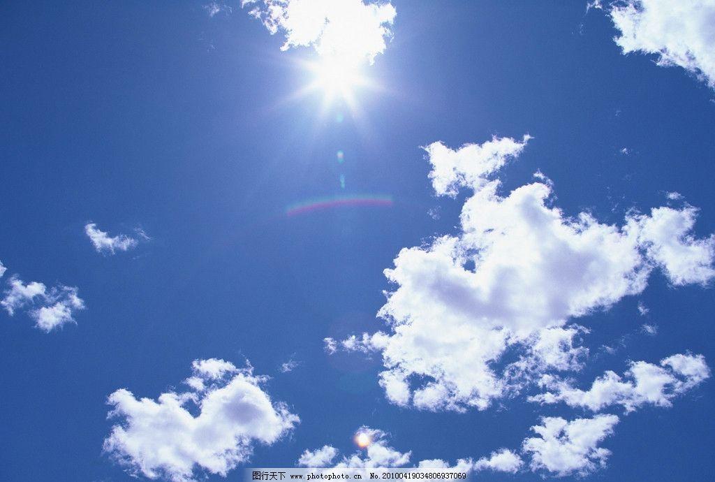 鸟瞰白云 白天 蓝天 太阳 阳光 鸟瞰 天空 自然风景 自然景观 摄影