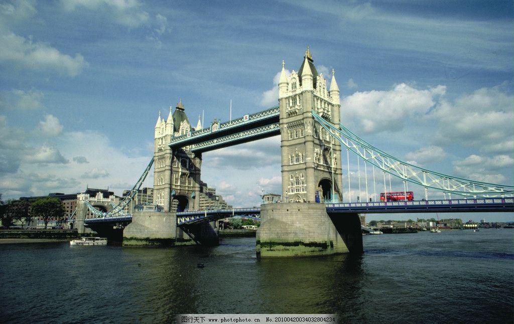 英国伦敦双子桥图片