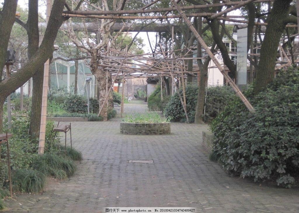 建筑景观 台湾设计师 产业园区 田野 古朴 砖瓦 复古 树木 别具匠心