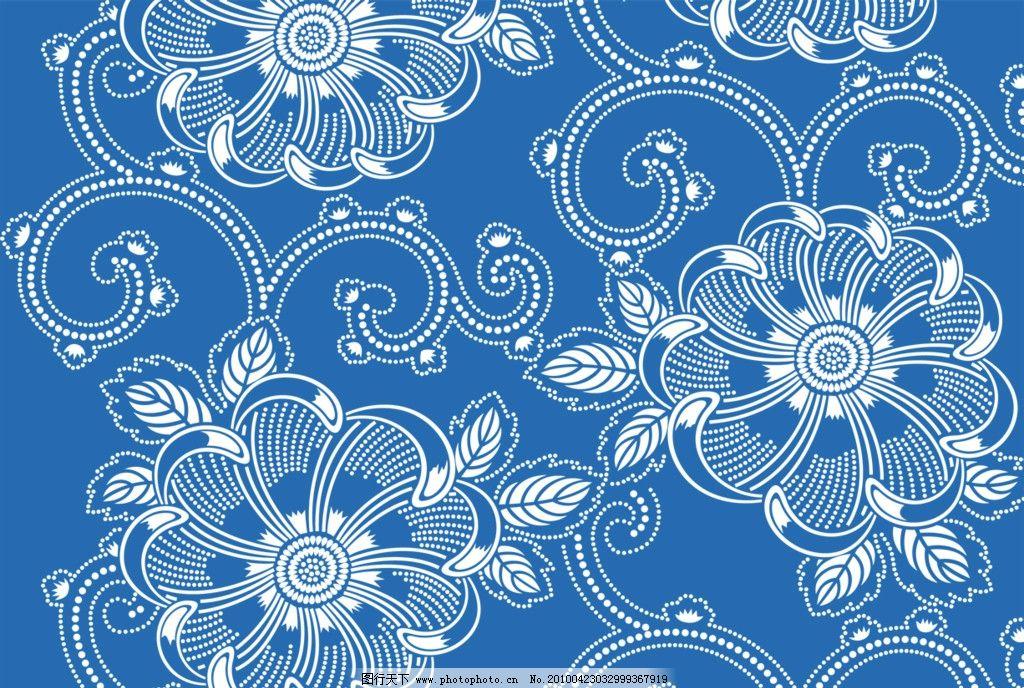 花纹 psd 底纹 装饰 素材 背景 修饰 点 线 排列 构成 花朵 线型 平面