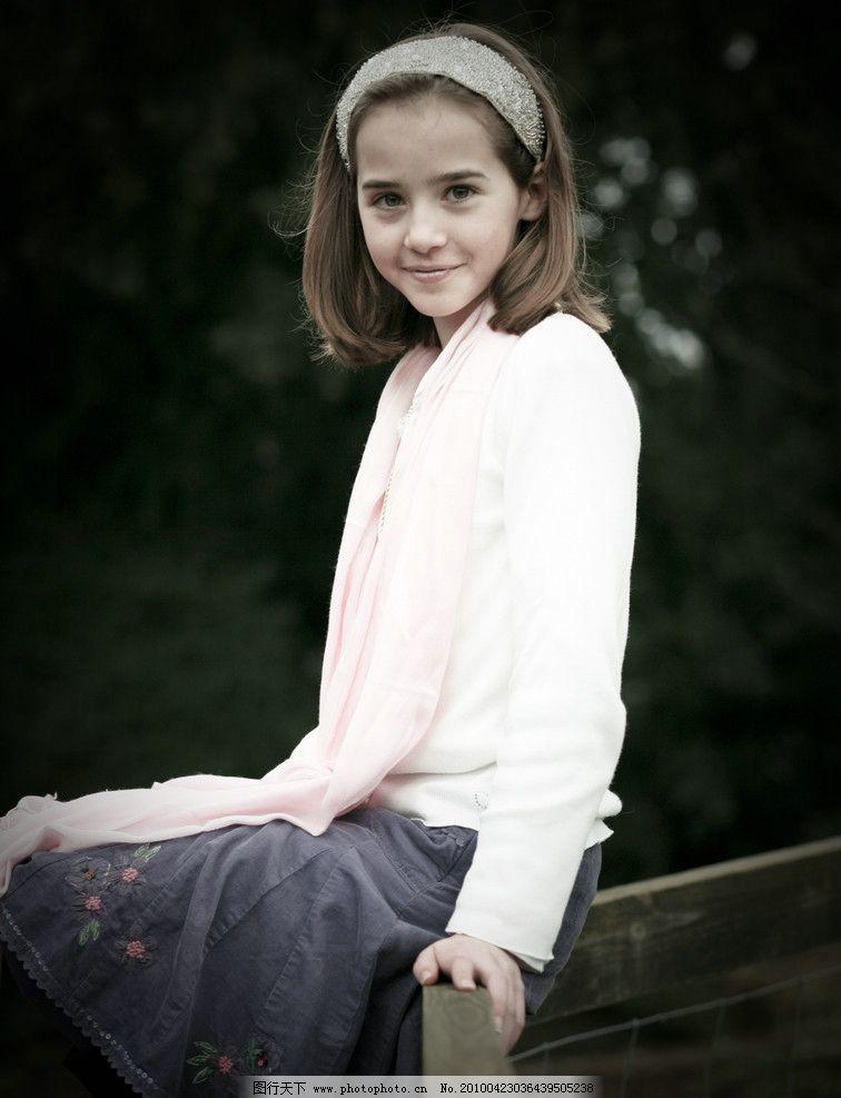 清纯可爱的英国女孩 西方 欧美 休闲 清新 纯真 大自然 美女