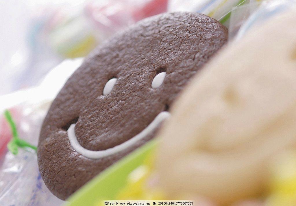 饼干图片 缤纷 多色 杂锦 静物 甜 可爱的饼干 五颜六色 可爱 笑脸