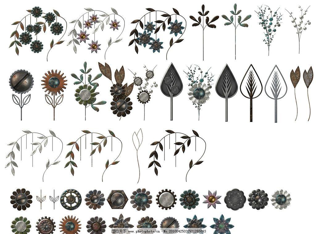 铁艺 高清 欧式 古典 造型 材质 锈迹 形状 花型 欧式铁艺