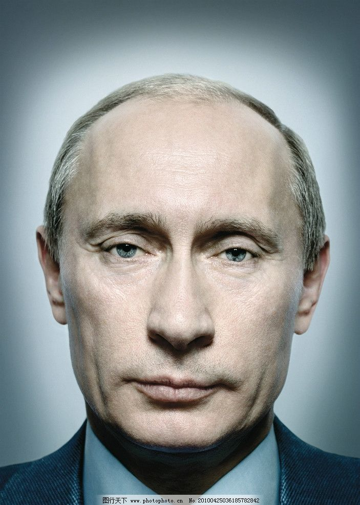 摄影图库 人物图库 日常生活  普京 俄罗斯总理硬汉普京清晰头像照