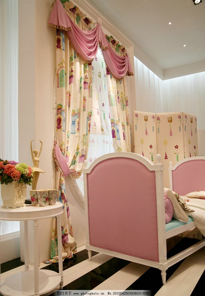 家装窗帘设计 窗帘布艺