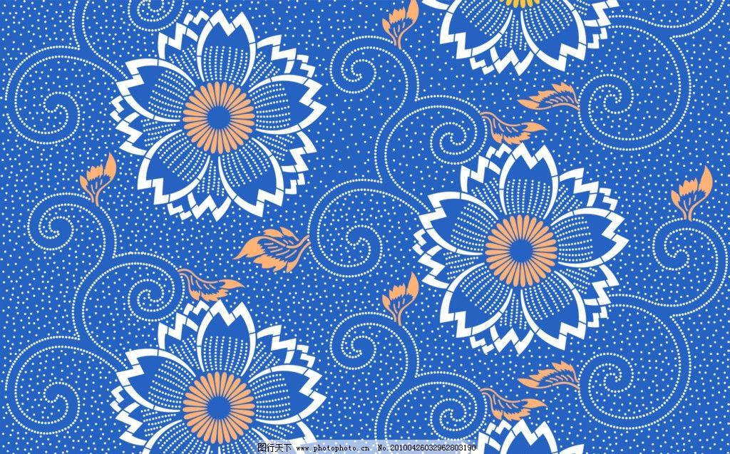 psd 底纹 花纹 装饰 素材 背景 修饰 点 线 曲线 排列 构成 花朵 线型