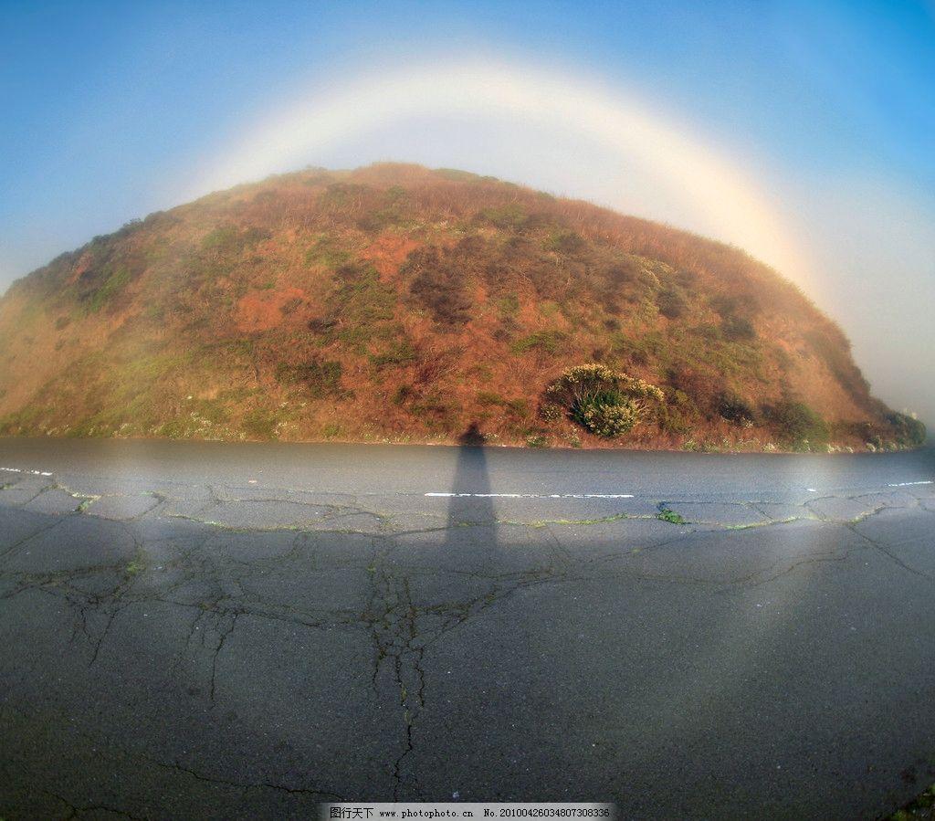 自然界中的圆形景物