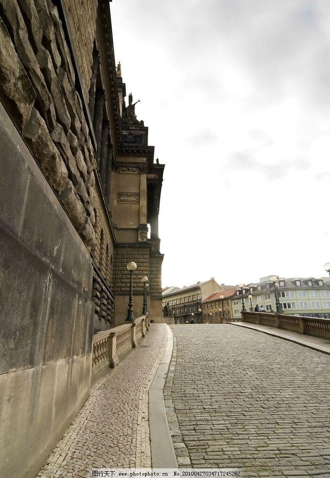 欧式建筑 欧洲街道