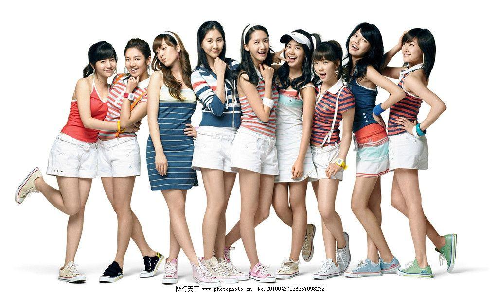少女组合 美女 韩国 模特 高清 jpeg 人物摄影 人物图库 摄影 300dpi