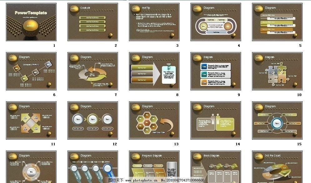 金属背景ppt 公司      项目 市场营销 动态 展板素材 画册素材 企业