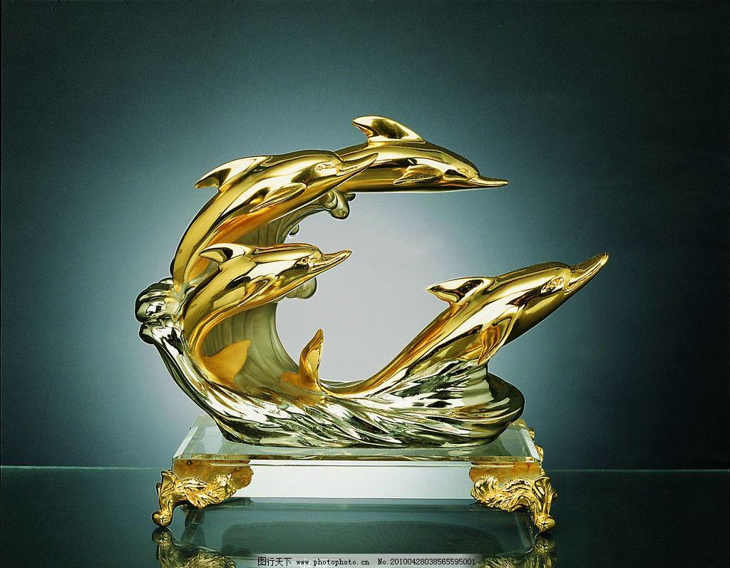 工艺品 琉璃 艺术品 玻璃 海豚 摆件 传统文化 文化艺术 摄影 119dpi