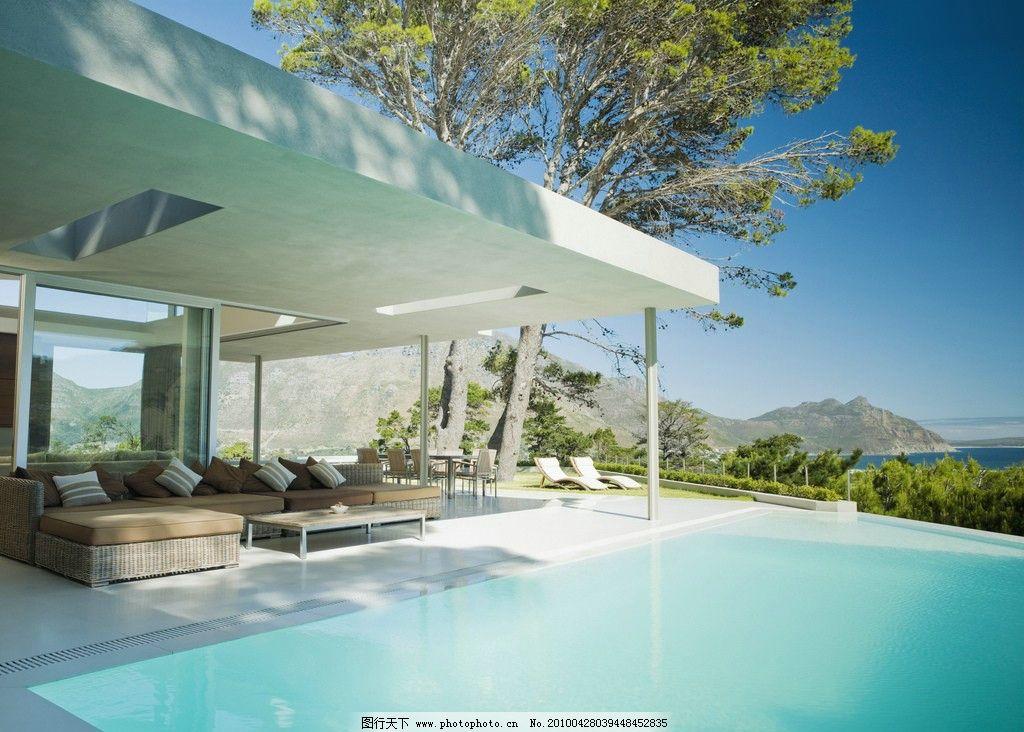 別墅 泳池圖片