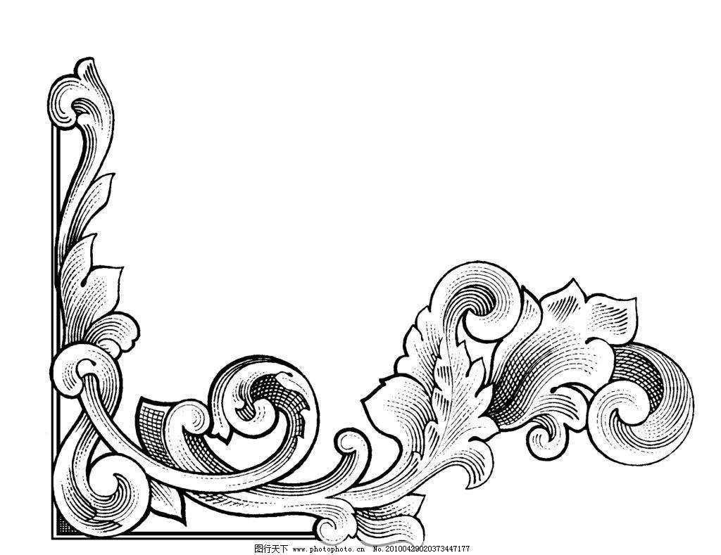 中华古典花纹003图片