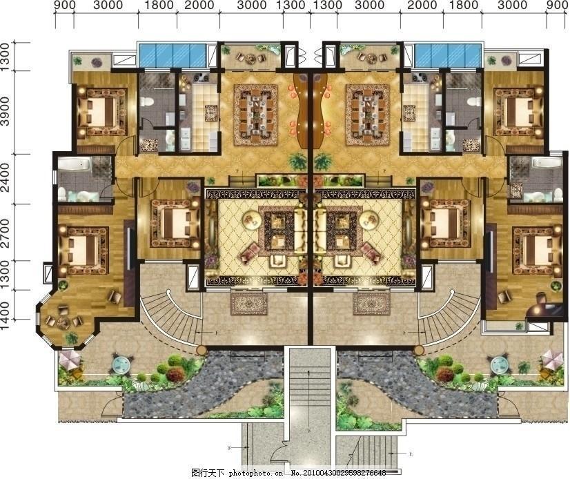 花樣洋房 別墅平面圖