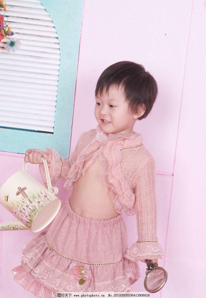 可爱宝宝 宝宝 可爱的小宝宝贵 美丽 小孩 天真 粉色 儿童摄影 儿童幼
