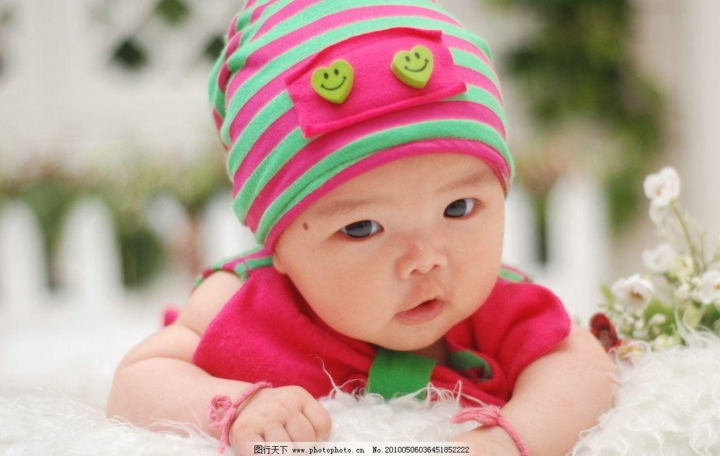 摄影艺术照小女孩 宝宝 微笑 可爱 宝贝 儿童幼儿 人物图库 幼婴儿