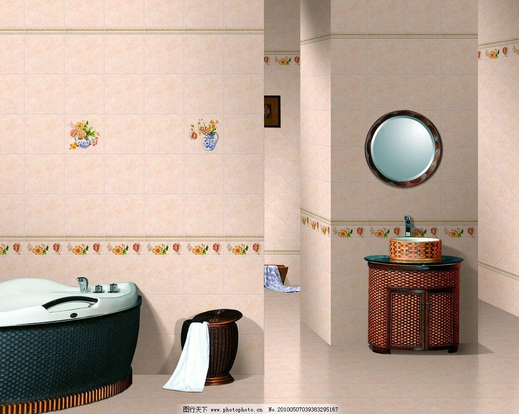 室内装修 室内设计 环境设计 设计 欧式 木浴缸 木浴柜 室内摄影 建筑