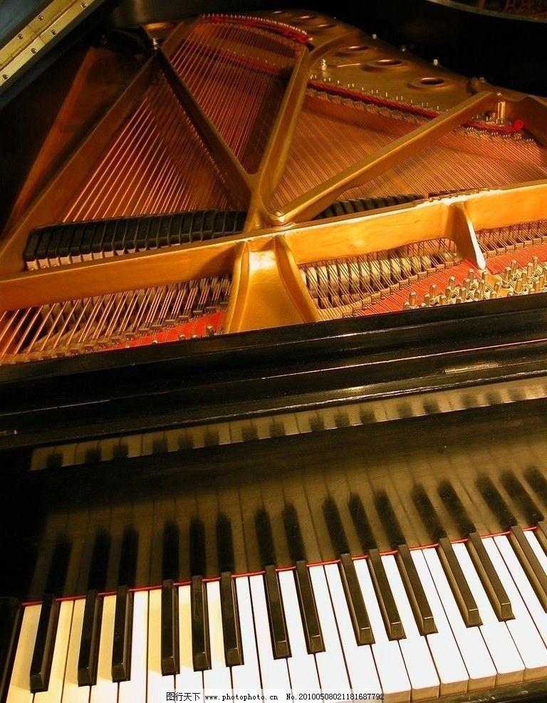 乐器 钢琴 结构 音乐 舞蹈音乐 文化艺术 摄影