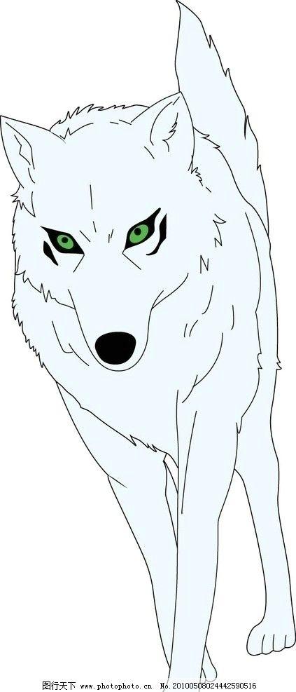 简笔画狼头画法步骤