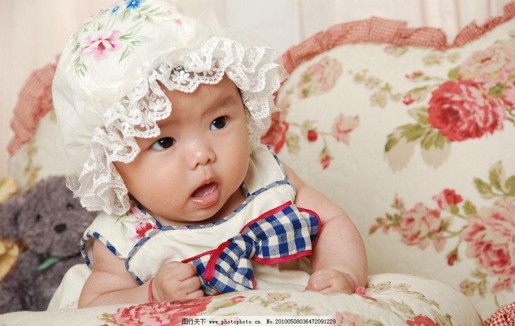 摄影艺术照小女孩 宝宝 微笑 可爱 宝贝 儿童 幼儿 人物图库 摄影