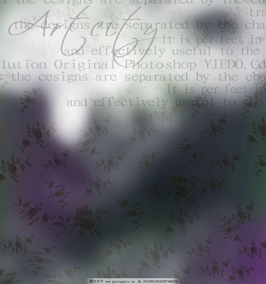 欧式移门 欧式 梦幻 英文 玫瑰 花纹 底纹 暗花 背景 移门图案 位图