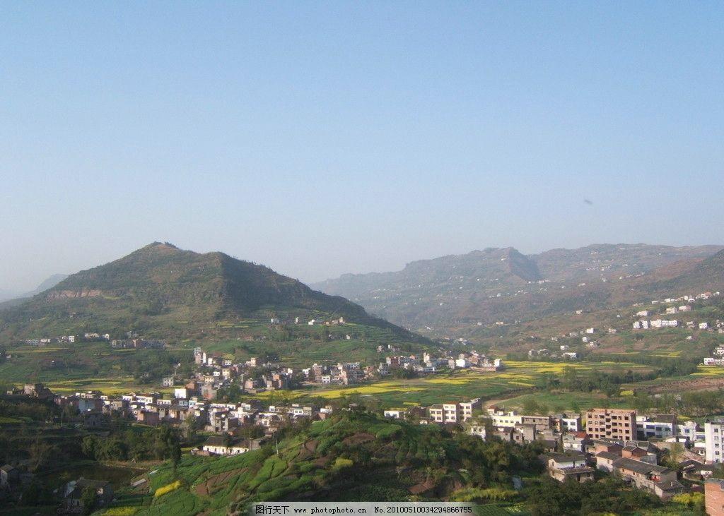 重庆农村鸟瞰风景图片