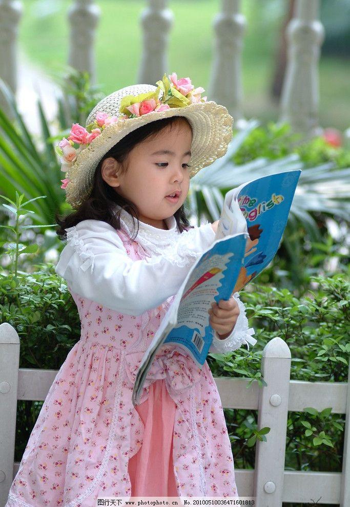 可爱女孩 儿童摄影 人物图库