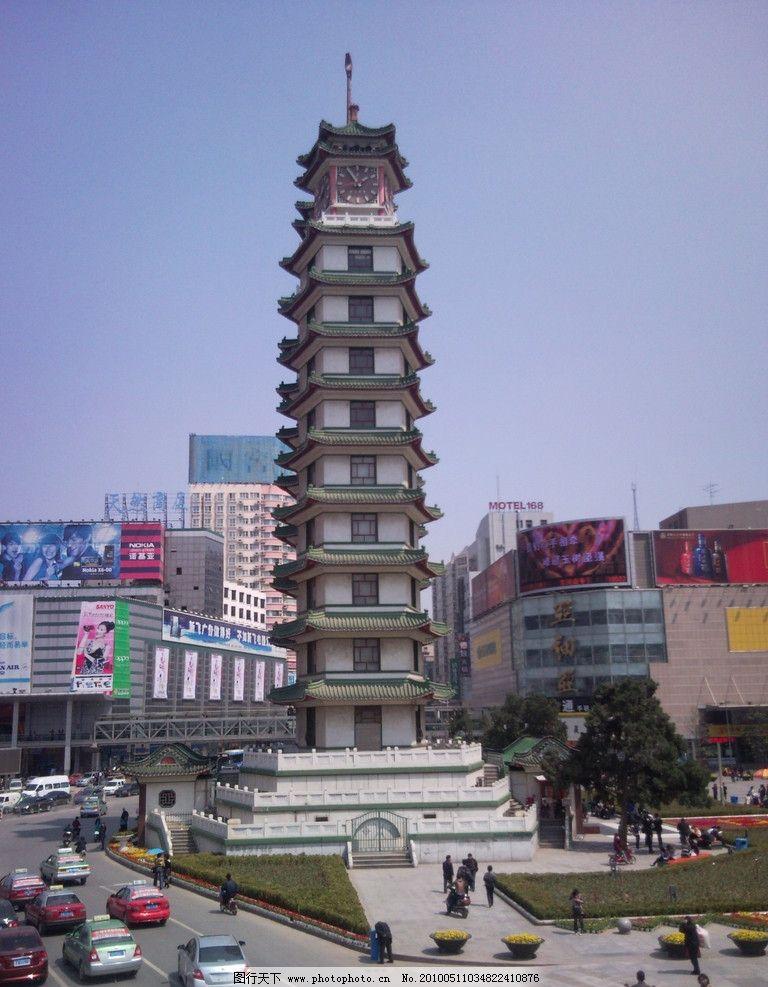郑州二七纪念塔图片