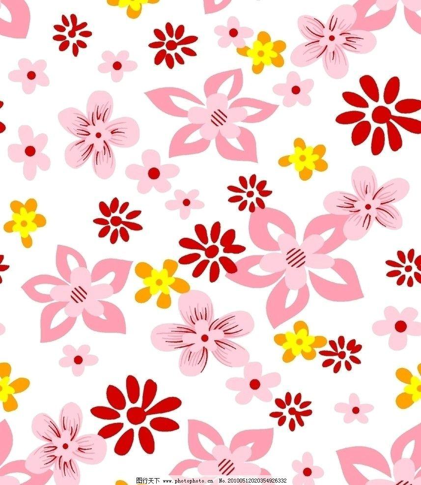 小碎花 花 布匹设计花图 布料 底纹 花纹 花边花纹 底纹边框 设计 72