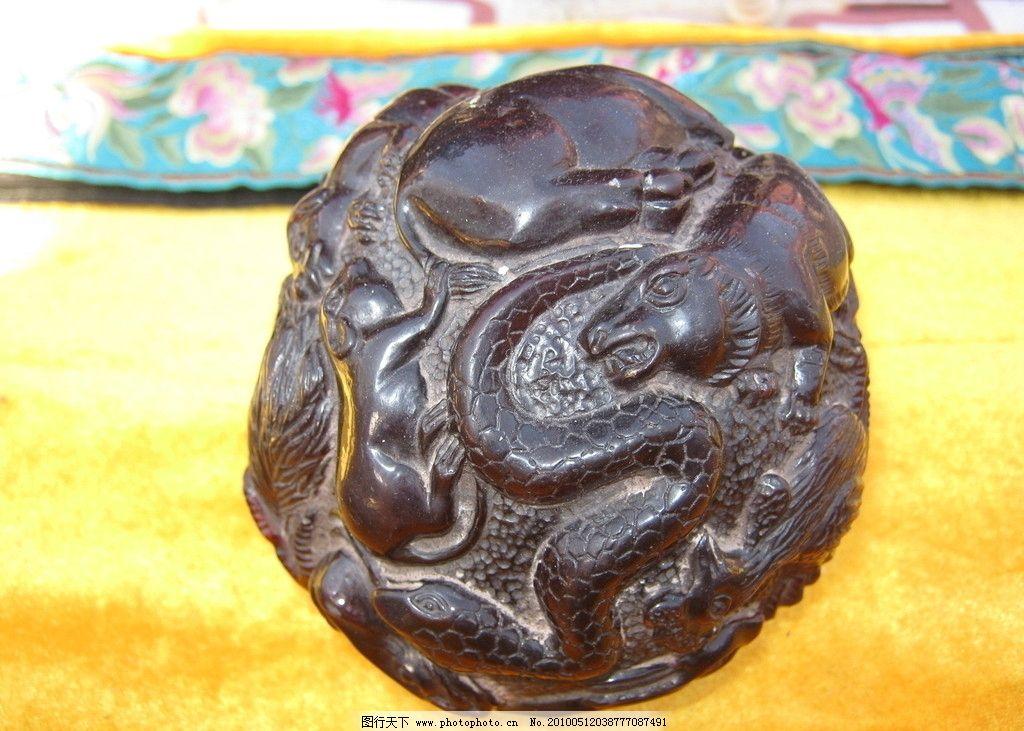 紫檀木雕图片