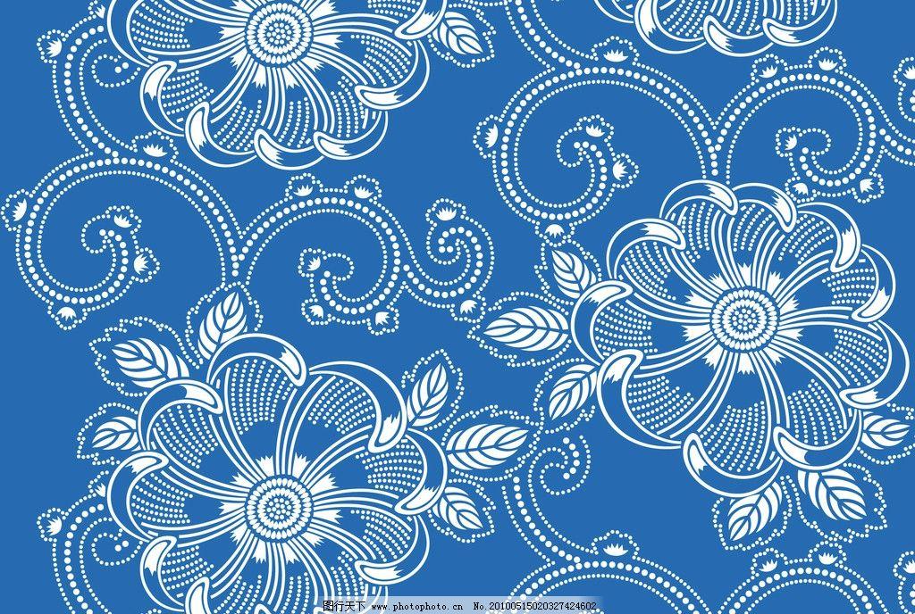 花纹 花 日本花样 底纹 花边花纹 底纹边框 设计 300dpi jpg