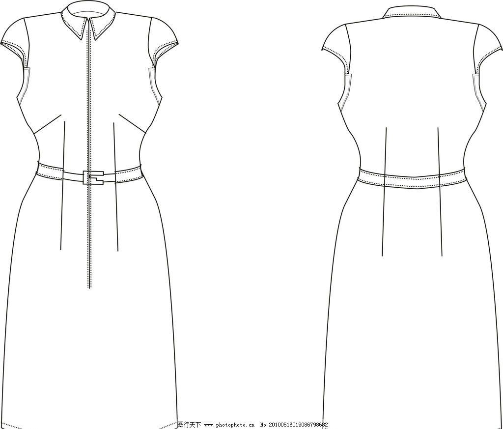 裙子款式图 裙子 款式图 cdr 美术绘画 文化艺术 矢量 cdr