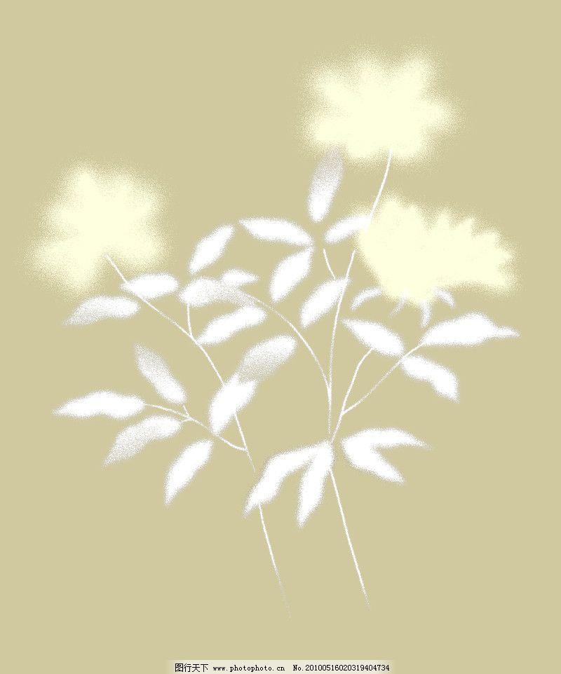 彩绘花纹0487